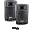 Podium Pro - Podium Pro PP806A Battery Powered Speakers USB MP3 800W with Bluetooth PP806AB - Black