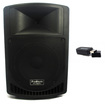 Podium Pro - Podium Pro Audio PP1206A Battery Powered MP3 Speaker & Bluetooth 600W PP1206A1B - Black