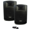 Podium Pro - Podium Pro Audio PP1206A Battery Powered MP3 Speakers & Bluetooth 1200W PP1206AB - Black