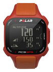 Polar - RC3 GPS Sports Watch with Heart Rate Monitor - Red/Orange