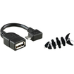 eForCity - Micro USB OTG to USB 2.0 Adapter + Headset Smart Wrap Bundle for Asus Google Nexus Tablet 7 7