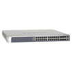 Netgear - 24 Ports Gigabit, Layer 2+ Software Package - Silver