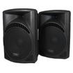Podium Pro - New Pro Audio SD Card Powered Speaker Pair PP1504CD - Black