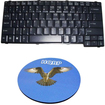 HQRP - Laptop / Notebook Keyboard for ACER TravelMate MSK-AE1D / NKS-AEK0L Replacement + Coaster
