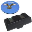HQRP - Battery for Sennheiser BA90 BA 90 fits H200 H 200 Headphones Receiver + Coaster