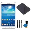 Samsung - Bundle Galaxy Tab 3 (8-Inch, White) Essentials Bundle