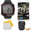 Polar - Bundle RC3 GPS Watch with Heart Rate Monitor - Black (90048174)