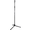 Podium Pro - Adjustable Steel Microphone Stands with EZ Mic Clips 3 Mic Stand Set MS2SET2-3S - Black