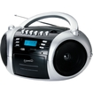 Supersonic - Portable MP3/CD Cassette Recorder with AM/FM Radio, USB/SD and Aux Inputs