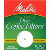 "Melitta - 3.5"" Disc Coffee Filter - White"