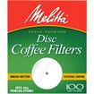 """Melitta - 3.5"""" Disc Coffee Filter - White"""