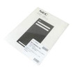 NEC - DSX 22 Button Display Label for Phone - Black