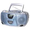 Hamilton Electronics - MPC-5050 CD Cassette and AM/FM Radio Boom Box - Blue, Silver