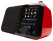 Grace Digital - Mondo Wireless Music Player and Internet Radio - Red