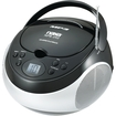 Naxa - Portable MP3/CD Player with AM/FM Stereo Radio - Black - Black