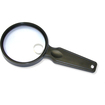 Carson - Carson MagniView 2.5x Hand Magnifier with 5x Spot Lens - Clear - Clear