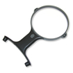 Carson - MagniShine HF-66 2x Hands Free LED Lighted Magnifier
