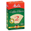 Melitta - #2 Cone Coffee Filter - Natural Brown