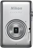 Nikon - Coolpix S02 13.2-Megapixel Digital Camera - Silver