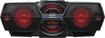 Sony - CD/CD-R/RW Boombox with AM/FM Radio - Black