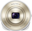 Sony - DSC-QX10 18.2-Megapixel Attachable Lens-Style Camera for Most iOS and Android Mobile Phones - White