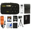 Coleman - Xtreme C5WP Shock+Waterproof Digital Camera (Black) w/ 8GB Card+Battery+Floating Strap+Case+Acc Kit