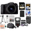 Sony - Cyber-Shot DSC-RX10 Camera+24-200mm f/2.8 Zoom Lens+64GB crd+Batt+Charger+Case+Flash+Tripod+Acc Kit