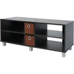 Furinno - 10001EX/BR TV Entertainment Center with 2 Bin Drawers - Brown