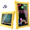 AGPtek - 7-Inch 4GB Wifi Camera Children Kids Tablet PC with 8GB Extended Memory Card - Yellow