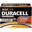 Duracell - MN2400BKD 1.5V DC Alkaline AAA Battery f/ Toys Portable Tape CD Players Clocks Radios Remote Control