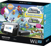 Nintendo - Wii U Deluxe Set with New Super Mario Bros. U and New Super Luigi U - Black