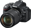 Nikon - D5200 DSLR Camera with 18-140mm VR Lens - Black