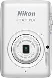 Nikon - Coolpix S02 13.2-Megapixel Digital Camera - White - White