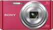 Sony - DSCW830 20.1-Megapixel Digital Camera - Pink