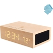 GOgroove - BlueSYNC TYM Bluetooth Stereo Speaker System for Apple iPod® touch, SanDisk Sansa Clip & More - Brown
