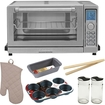 Cuisinart - Bundle TOB-135 Stainless Steel Toaster Oven/Broiler + Free Exclusive Tote Bag