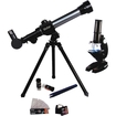 Vivitar - 20X 30X 40X Refractor Telescope and Microscope Set