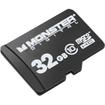 Monster Digital - 32GB Bunker USD-0032-101 microSD High Capacity (microSDHC) Card - Multi