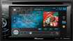 """Pioneer - 6.1"""" - DVD - Apple® iPod®-Ready - In-Dash Receiver with Remote - Black"""