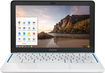 "HP - Pavilion 11.6"" Chromebook - Exynos - 2GB Memory - 16GB Hard Drive - Piano White/Blue"