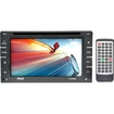 Pyle - 6.5'' Double Din Indash Touch Screen TFT LCD w/Multimedia Disc/CD/MP3/MP4/CD-R/USB/SD-MMC slot AM/FM