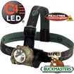 Buckmasters - Trident LED Headlamp - Camo Green