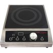 Mr. Induction - Mr. Induction: 2700W Countertop Commercial Range (208-240V) - Black, Stainless Steel