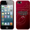 Coveroo - iPhone 5s / 5 Thinshield Snap-On Case - Red Miami Heat Logo - Red Miami Heat Logo