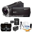 Sony - Bundle HDR-CX330/B Entry Level Full HD 60p Camcorder