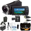 Sony - Bundle HDR-PJ340/B Full HD 60p Camcorder w/ built-in Projector