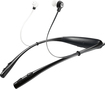 Motorola - Buds Wireless Bluetooth Behind-the-Neck Earbud Headphones - Black