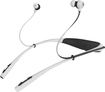Motorola - Buds Behind-the-Neck Headphones - White/Black