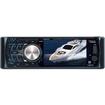 "Boss - Single Din Marine 3.6"" Monitor/DVD/MP3/CD Receiver Drop Down Detachable Panel"