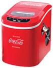 "Nostalgia Electrics - Coca-Cola Series 10"" 26-Lb. Freestanding Icemaker - Red - Red"